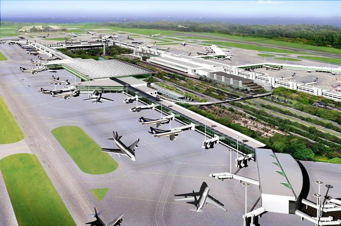 Cpg Consultants Masterplan Of Singapore Changi Airport