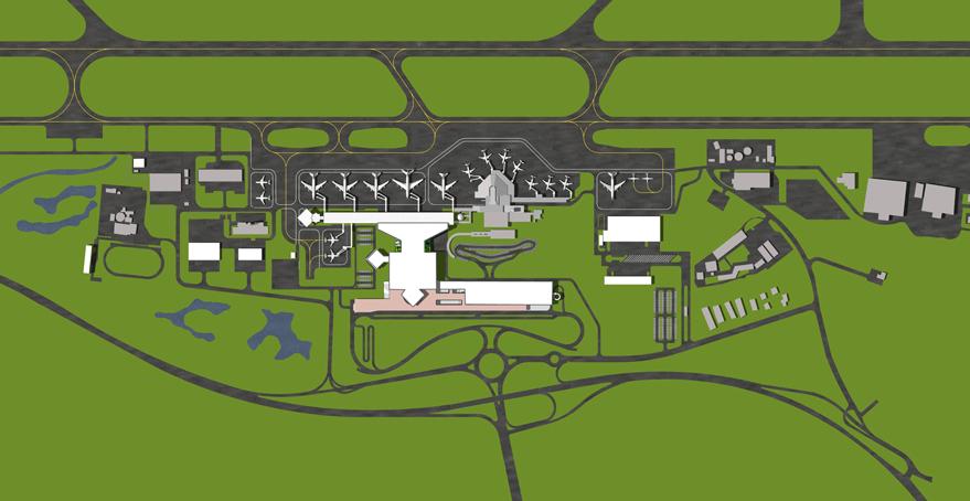 Cpg Consultants Masterplan Study Of Brunei International Airport