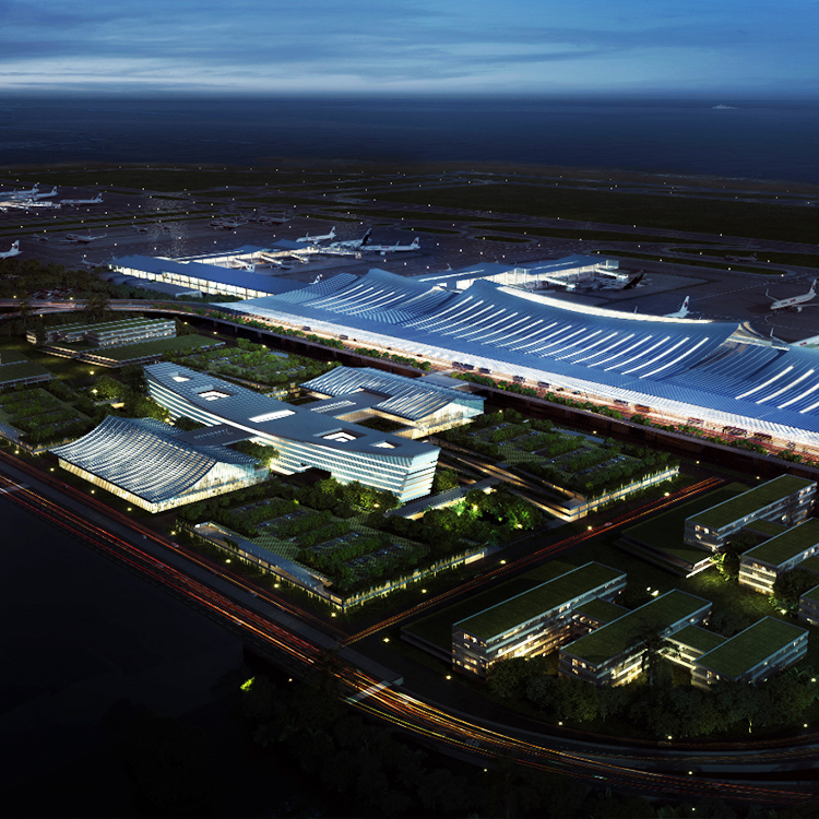 CPG Awarded Joint 1st Prize for Fuzhou International Airport T2 Design Competition
